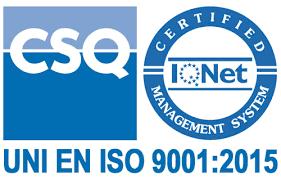 Completata con successo la certificazione ISO 9001:2015